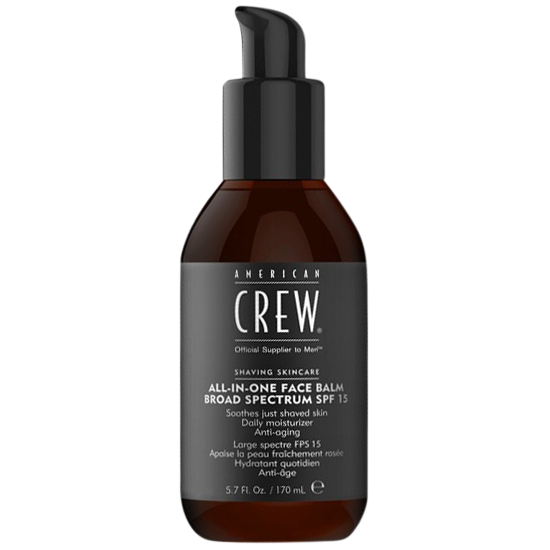 american crew all-in-one face balm spf15 170 ml.