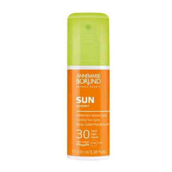 AnneMarie Börlind Cooling Sun Spray SPF30 100 ml - Solcreme