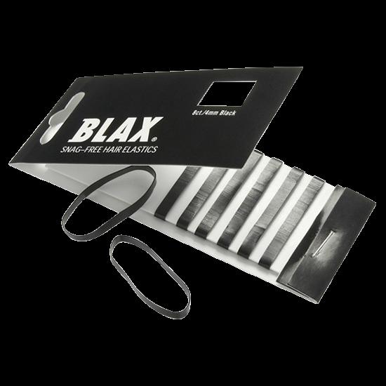 blax hårelastikker black 8 stk