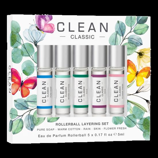 Clean EDP Spring Gift Set (5 x 5 ml)