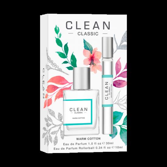 Clean Warm Cotton Gift Set