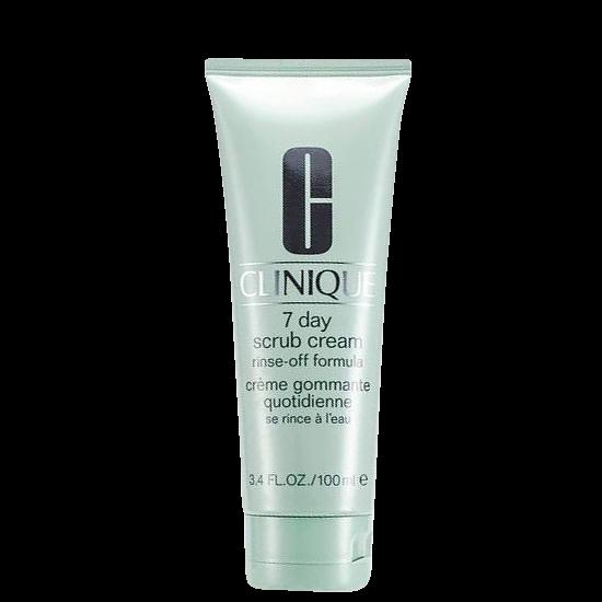 clinique clinique 7 day scrub cream rinse off formula 100 ml - ansigtsscrub