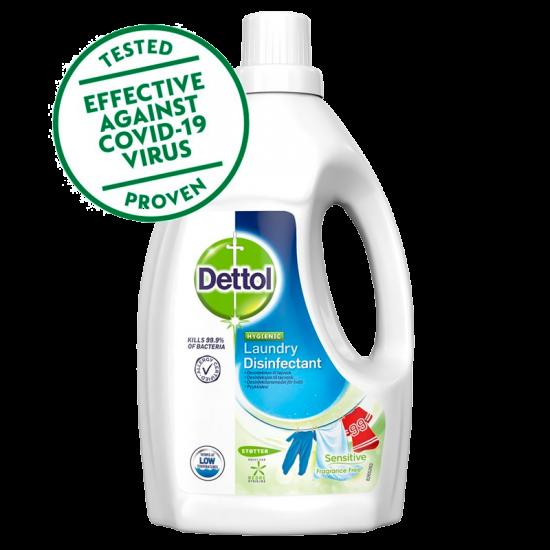 Dettol Desinfektion Tøjvask Sensitive Fragrance Free (1,5 l)