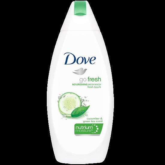 dove go fresh body wash cucumber 500 ml.