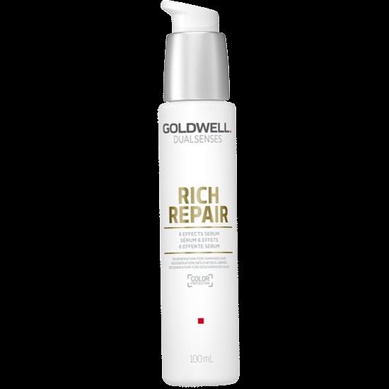 goldwell dualsenses rich repair 6 effects serum 100 ml.