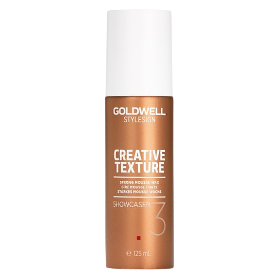 goldwell stylesign showcaser strong mousse wax 125 ml.
