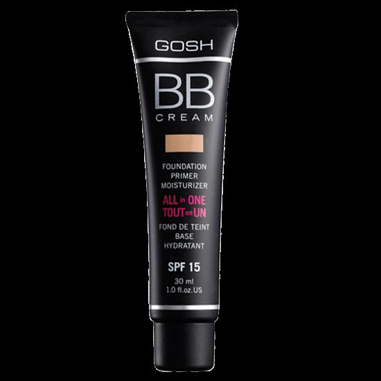 gosh bb cream all in one 03 warm beige spf15 30 ml.