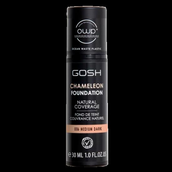 GOSH Chameleon Foundation Medium Dark 006 (30 ml)