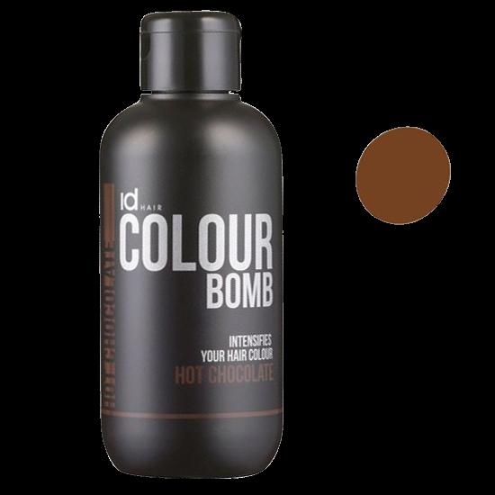 idhair colour bomb hot chocolate 250 ml.