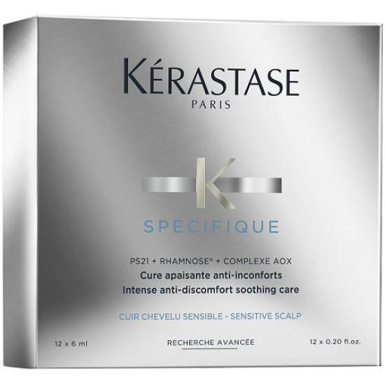 Kerastase Specifique Cure Apaisante Anti-Inconforts 12x6 ml - Mod irriteret hovedbund