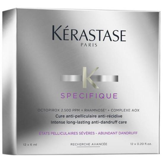 Kerastase Specifique Cure Anti-Pelliculaire 12x6 ml - Kur mod skæl