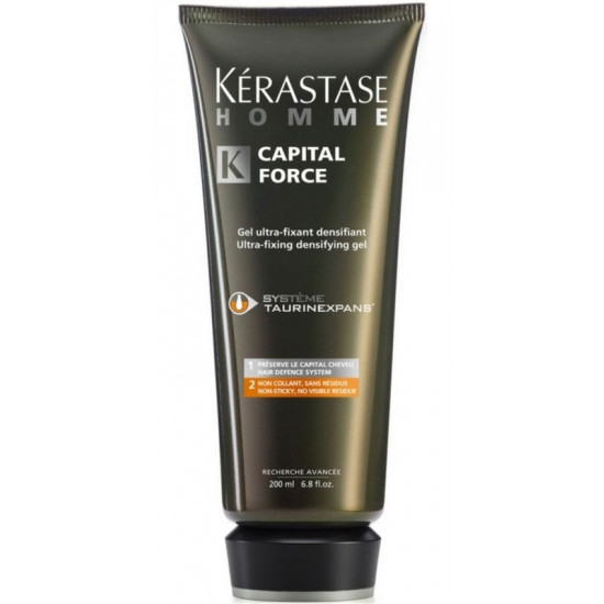 Kerastase Homme Capital Force Ultra-Fixing Densifying Gel 200 ml
