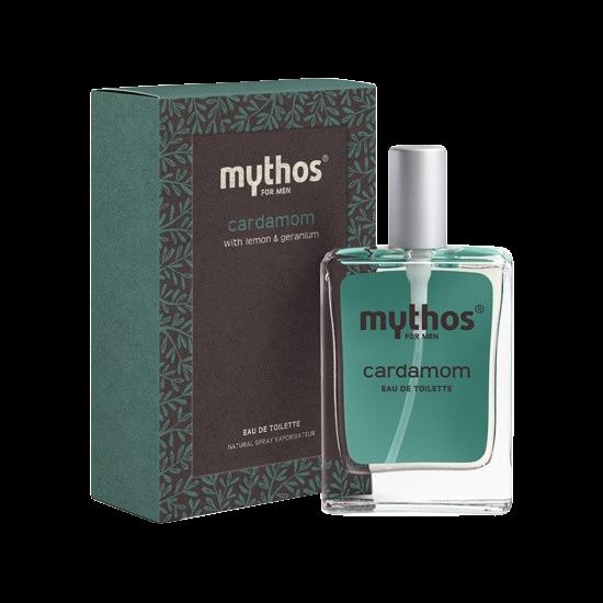mythos for men eau de toilette cardamom 50 ml