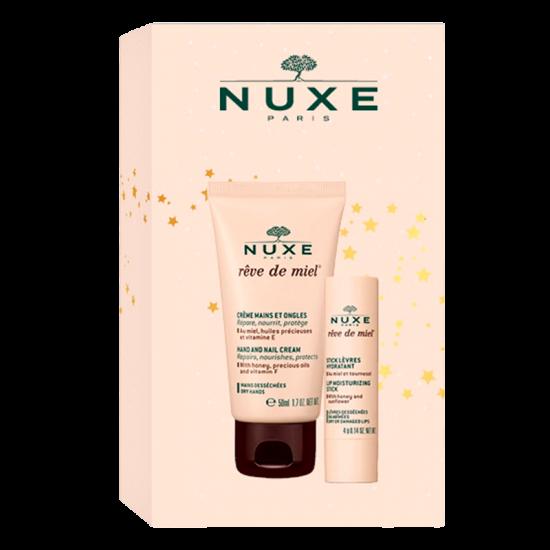 NUXE Hand & Lip Set