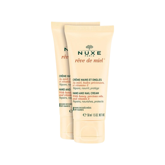 nuxe hand and nail cream duo 2 x 50 ml.