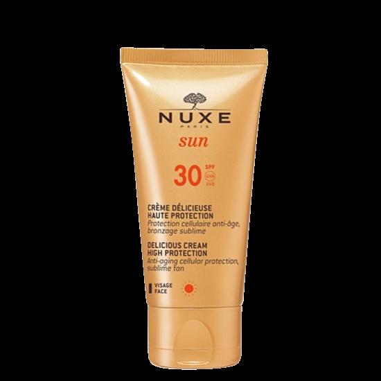 nuxe sun delicious cream for face spf30 50ml.