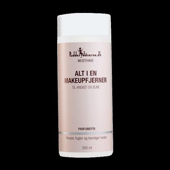 Pudderdåserne Alt I En Makeupfjerner 200 ml.
