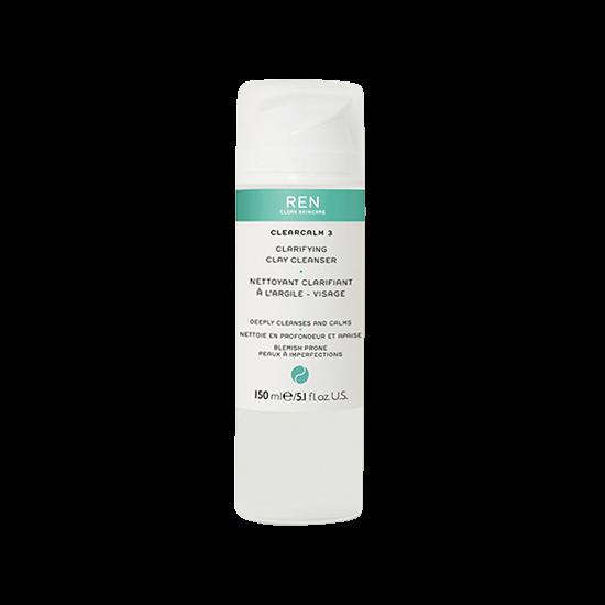 ren clearcalm 3 clarifying clay cleanser 150 ml.