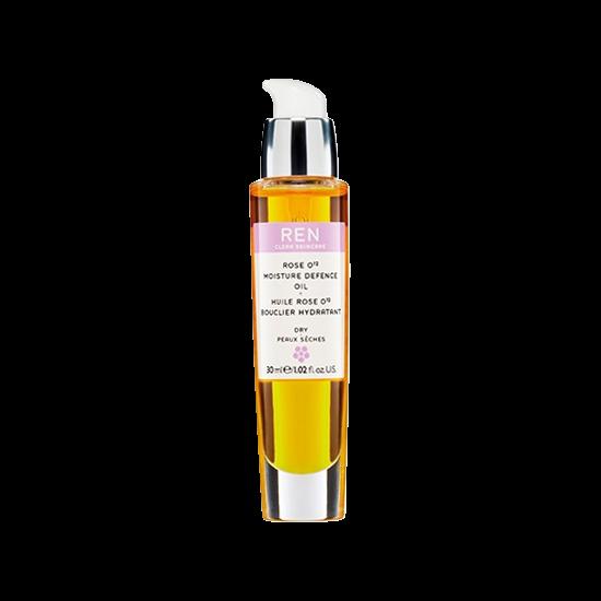 ren dry skin rose o12 moisture defence oil 30 ml.