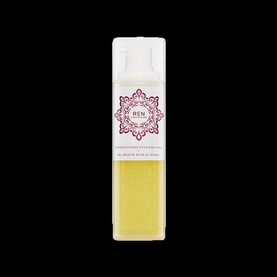 ren moroccan rose otto body wash 200 ml.
