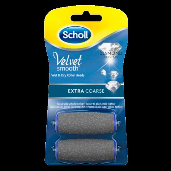 Scholl ExpertCare Elektronisk Fodfil Extra Grov Refill (2 stk)