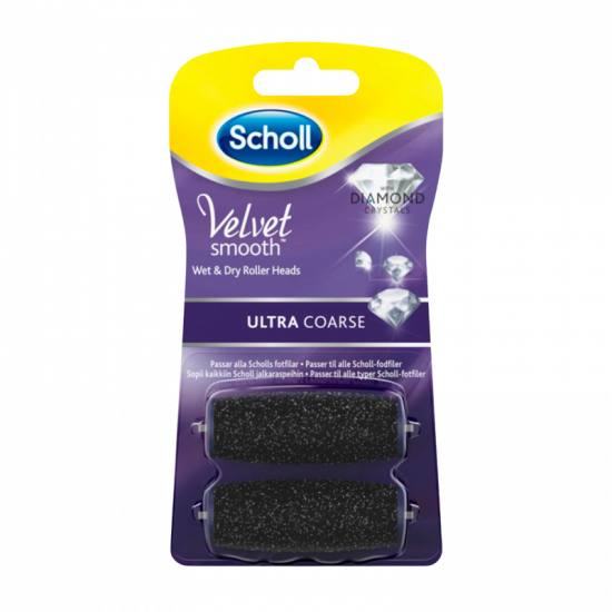 Scholl ExpertCare Elektronisk Fodfil Ultra Grov Refill (2 stk)