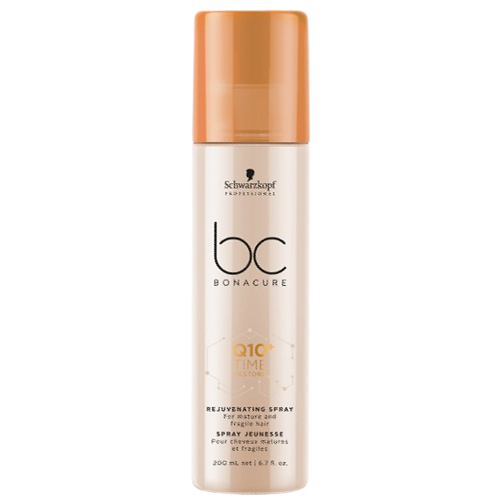 schwarzkopf bc bonacure q10 time restore rejuvenating spray 200 ml.