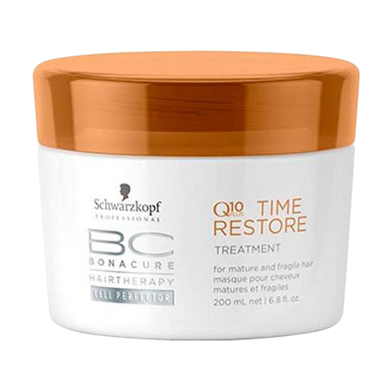 schwarzkopf bc bonacure q10 time restore treatment 200 ml.