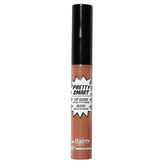 the balm pretty smart lip gloss snap! 6.5 ml.