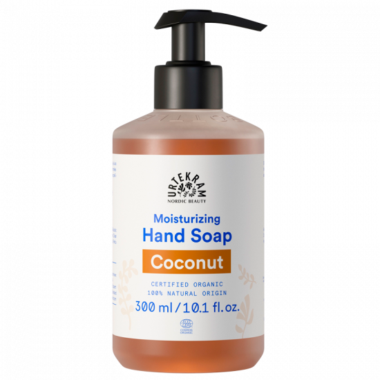 urtekram coconut hand soap 300 ml