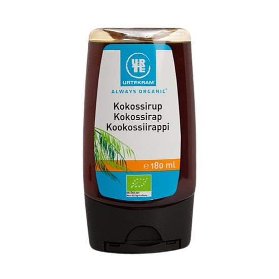 urtekram kokossirup 180 ml