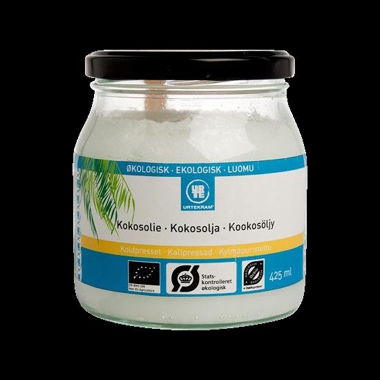 urtekram koldpresset kokosolie 425 ml
