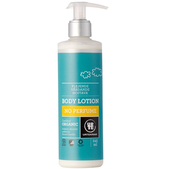 urtekram no perfume body lotion 245 ml