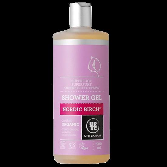 urtekram nordic birch shower gel 500 ml