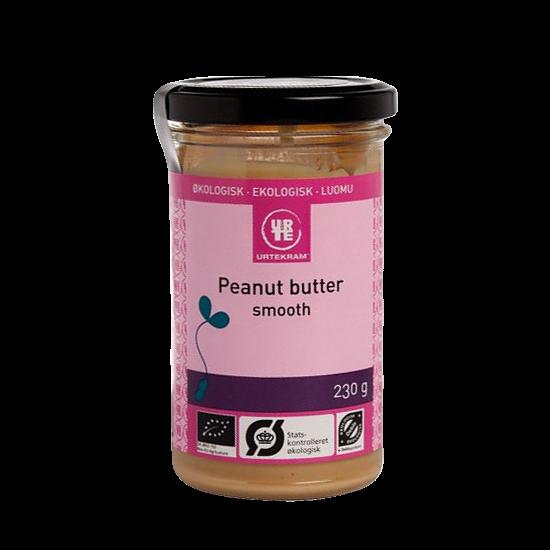 urtekram peanutbutter smooth 230 g