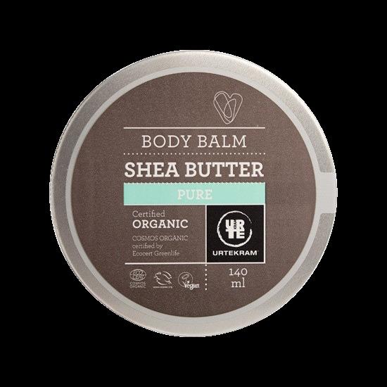 urtekram shea butter body balm pure 140 ml