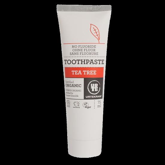 urtekram tea tree toothpaste 75 ml