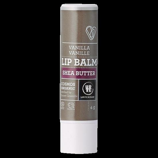 urtekram vanilla shea butter lip balm 4 g