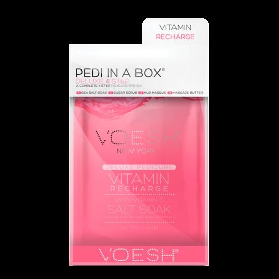 VOESH Pedi In A Box Deluxe 4 Step Pedicure Vitamin Recharge (1 stk)