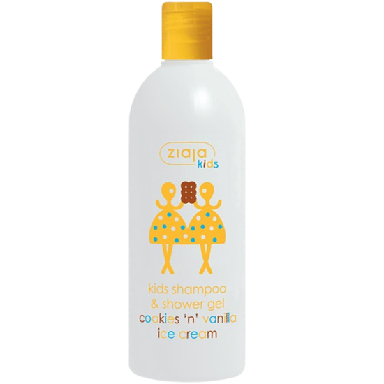 ziaja kids shampoo and shower gel 400 ml