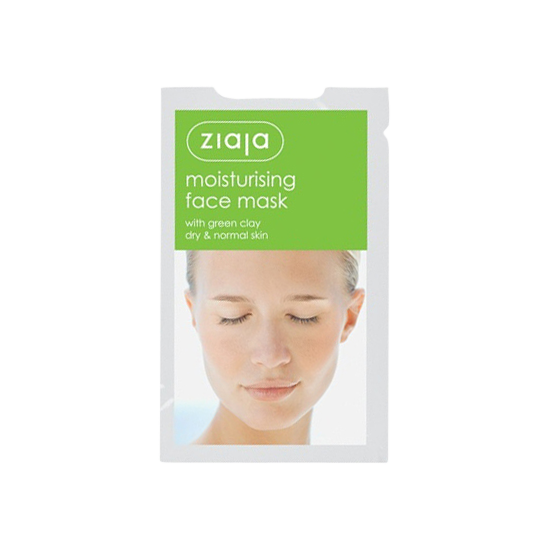 ziaja moisturising face mask 7 ml.